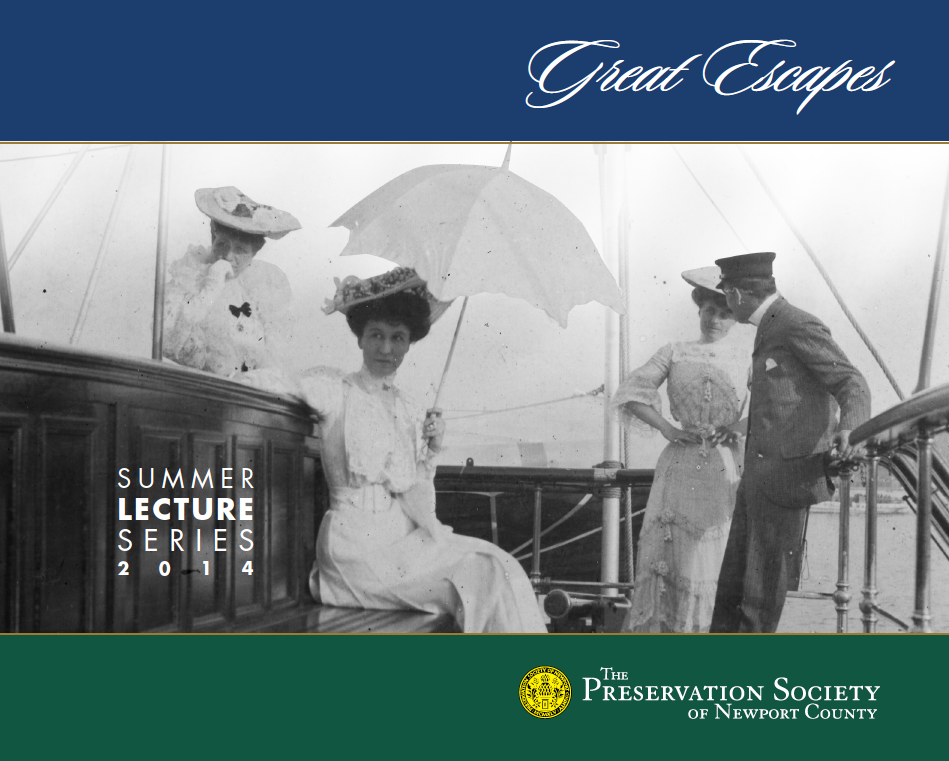 'Great Escapes' – Summer Lecture Series 2014