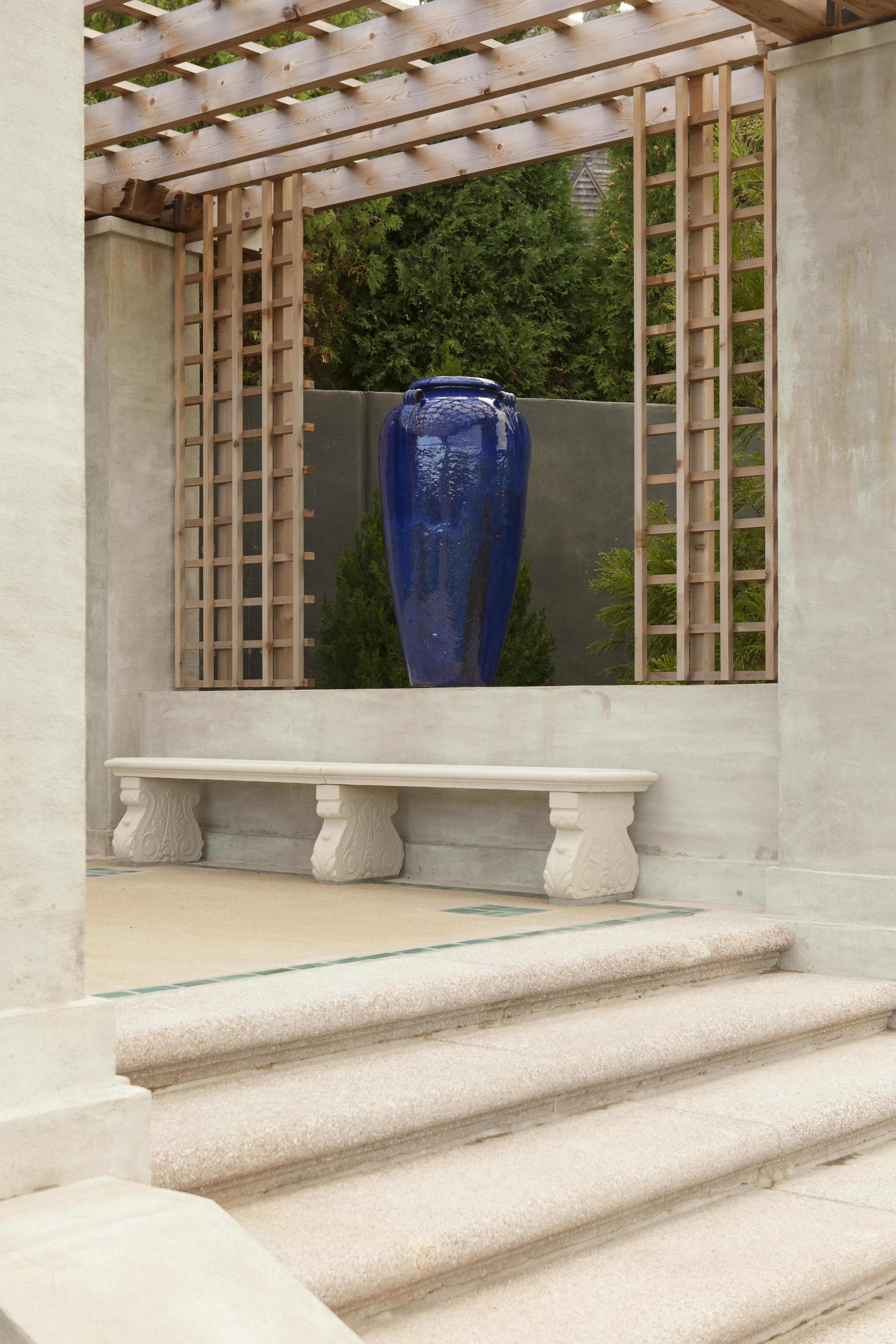a peek inside newport's blue garden - private newport