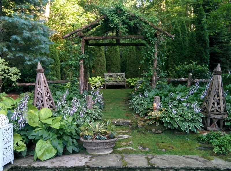 Private Gardens in the North Carolina Mountains