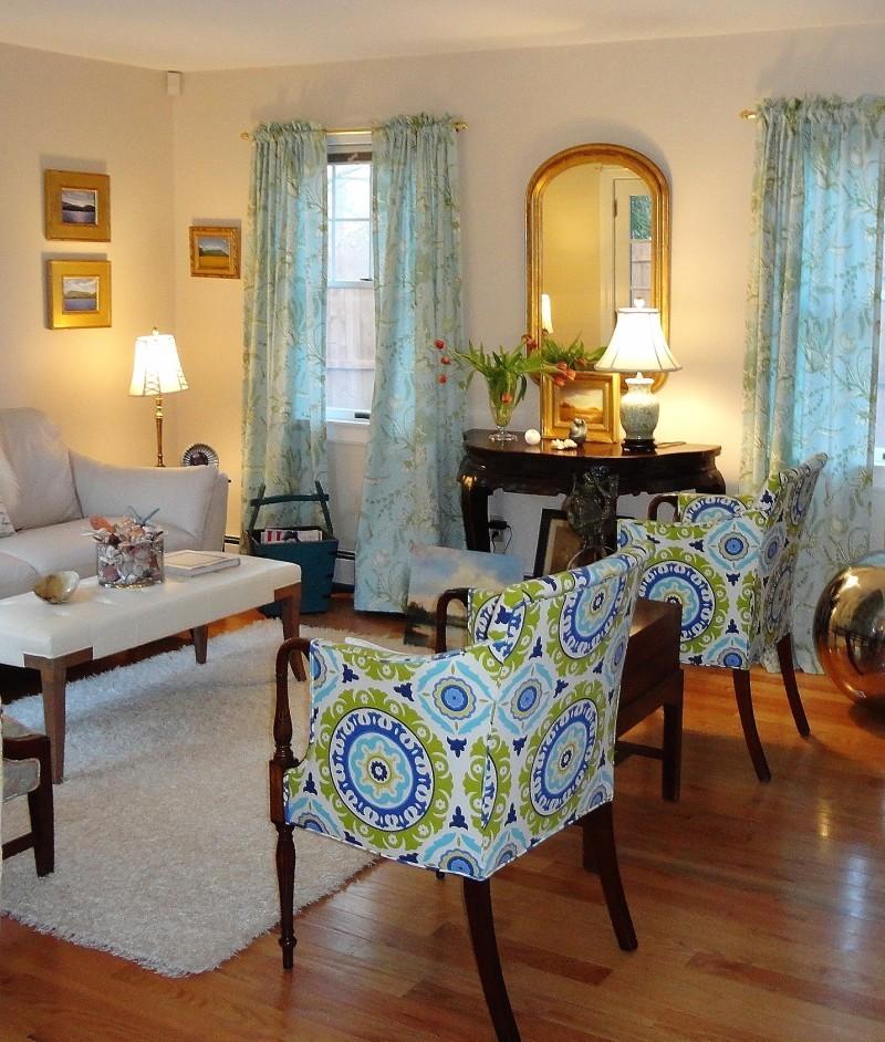 Jessica Hagen's living room