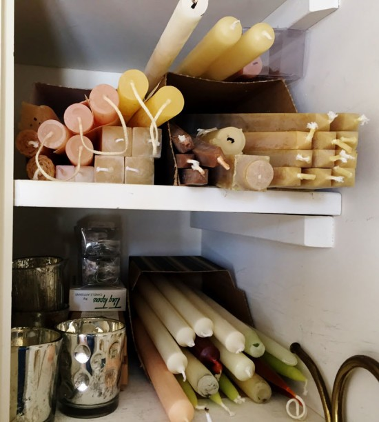 Candle Storage