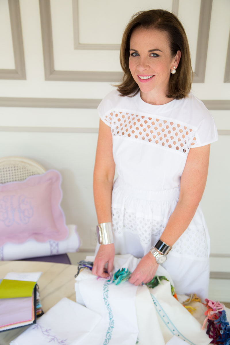 tastemaker jane scott hodges of leontine linens private