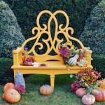 Capturing Fall's Golden Light: The Parterre Bench