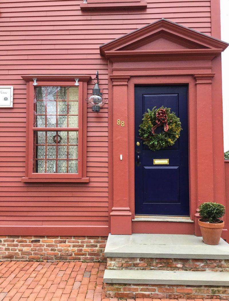 Newport\'s Holiday Doors - Private Newport