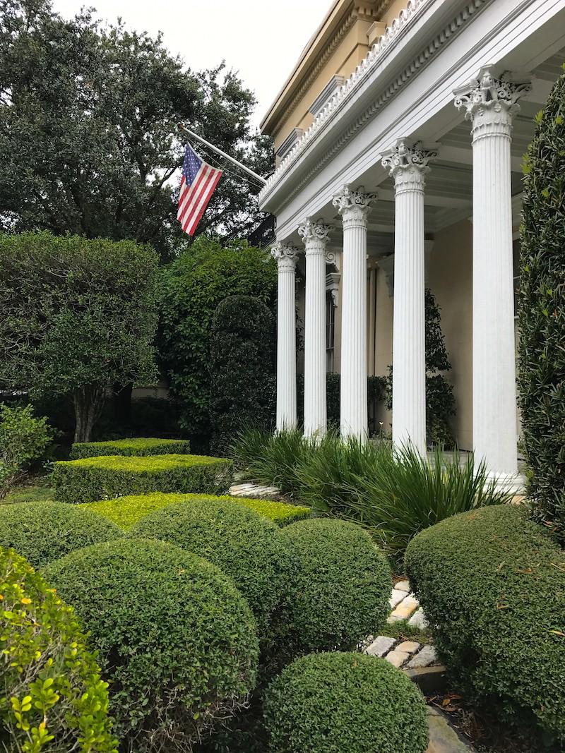 Inspiring Garden Design Geometric Juxtapositions Private Newport