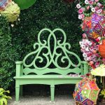 The Colors of Summer: The Parterre Bench