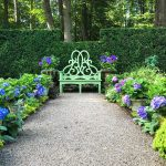 Summer Favorites: Hydrangeas and the Parterre Bench