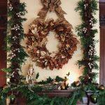 A Vanderbilt-Inspired Holiday Mantel
