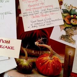 """Thanksgiving Planning from a """"Girl of 100 Lists"""""""