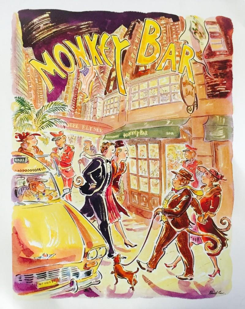Monkey bar NYC