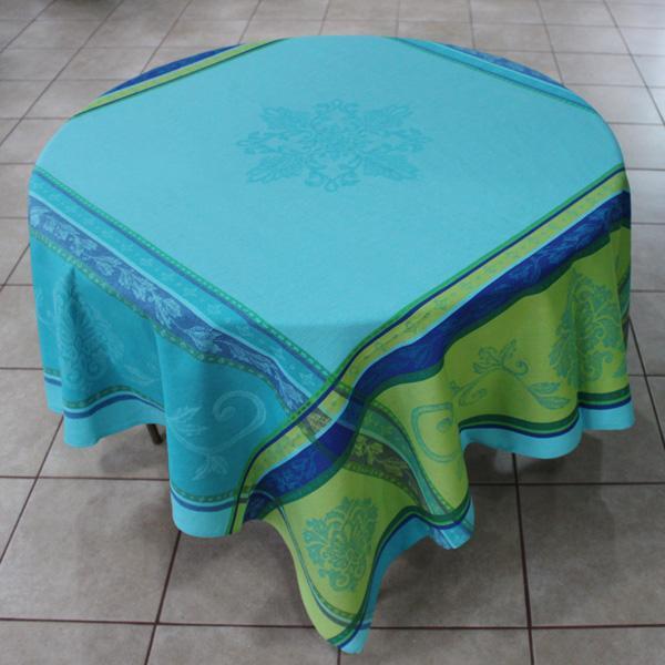 seurgette-jacquard-provence-tablecloth-turquoise