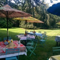 A Picnic in the Garden: All About Pattern