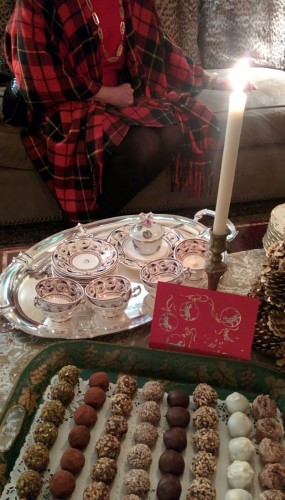 Christmas Tea & Cookies