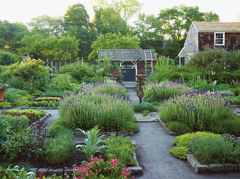 Maureen Ruettgers's Gardens at the Clock Barn