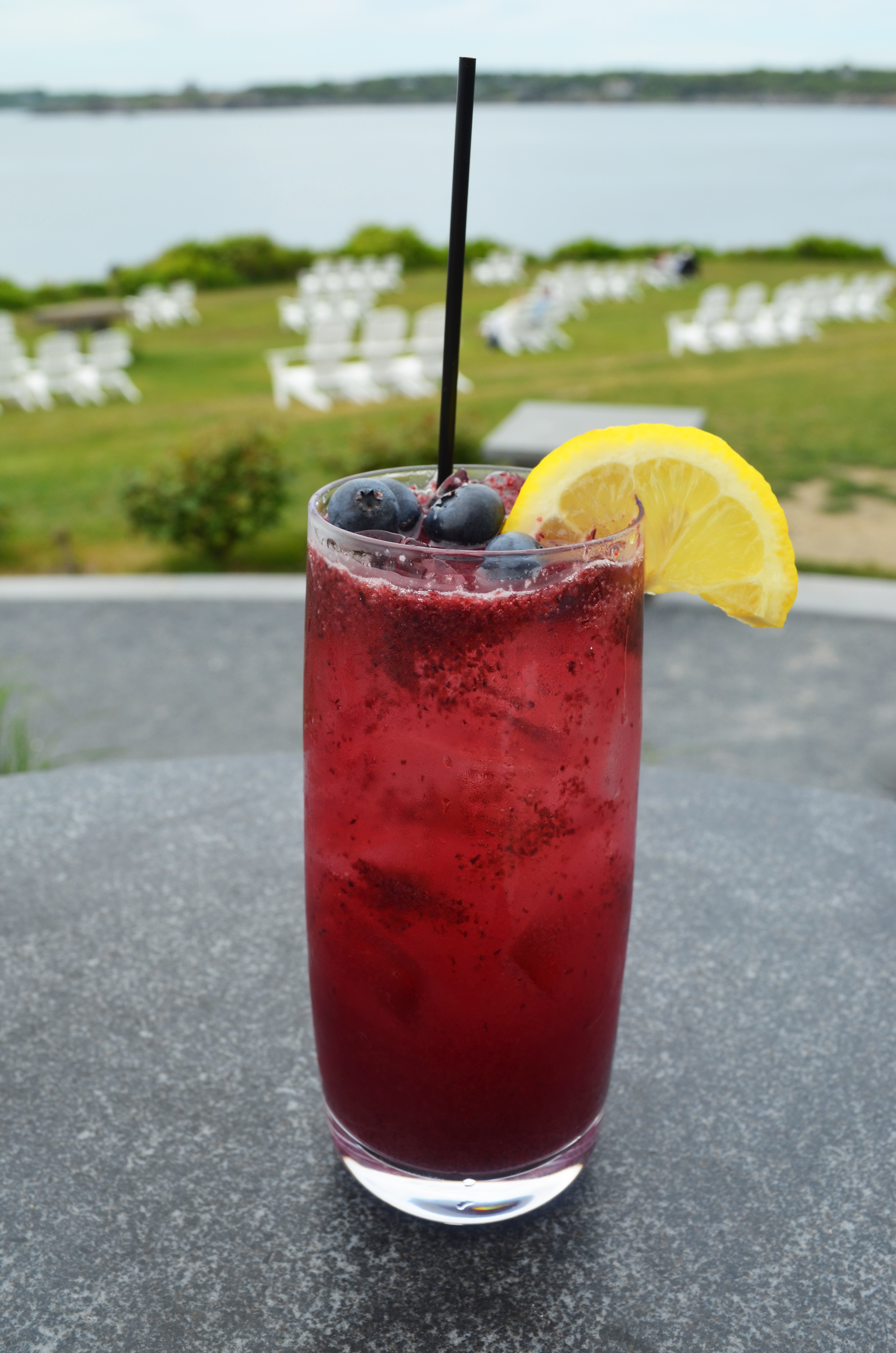 Castle Hill Inn Blueberry Lemonade