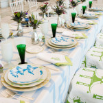 "A Refreshing ""Devine"" Summer Tablescape"