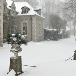 Parterre in the Snow