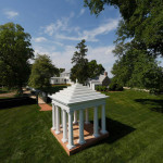 Thomas Jefferson's Dovecote on the Rose Hill Estate