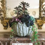 A Fall Centerpiece: Intriguing Combinations with Garden Favorites