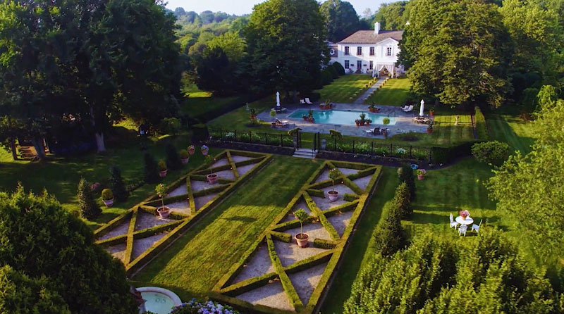 Inspiring Garden Design A Classic French Sanctuary Private Newport