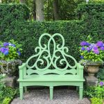 The Parterre Bench Salutes the Newport Flower Show