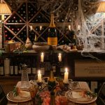 A Wine Cellar Supper for Halloween