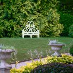Parterre's Green and White Garden